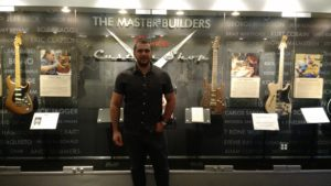 (Visita na Fábrica da Fender) Master Builders Fender