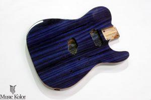 Guitarra de freijó. Qual cor escolher?